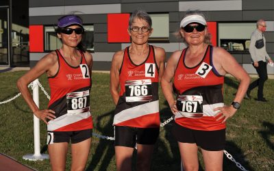 First racewalking event of the year